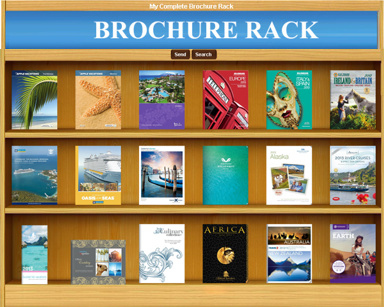 Mailpound Brochure Rack